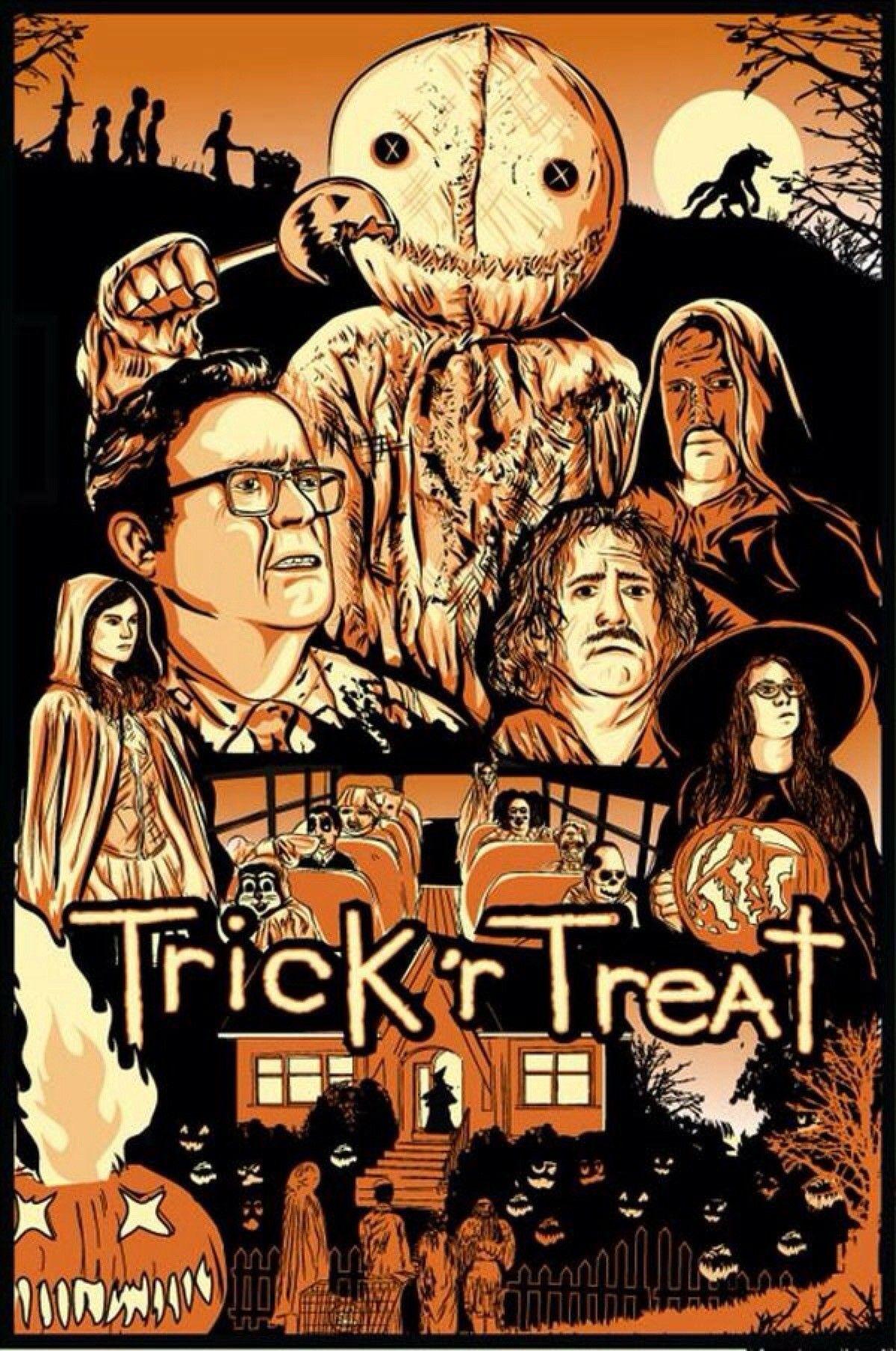 Trick R Treat 이미지 포함 영화
