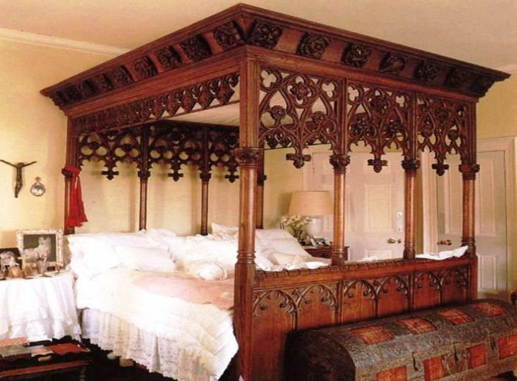 Medieval Bedroom Design 25 Surprisingly Stylish Gothic Bedroom Design And Ideas  Gothic