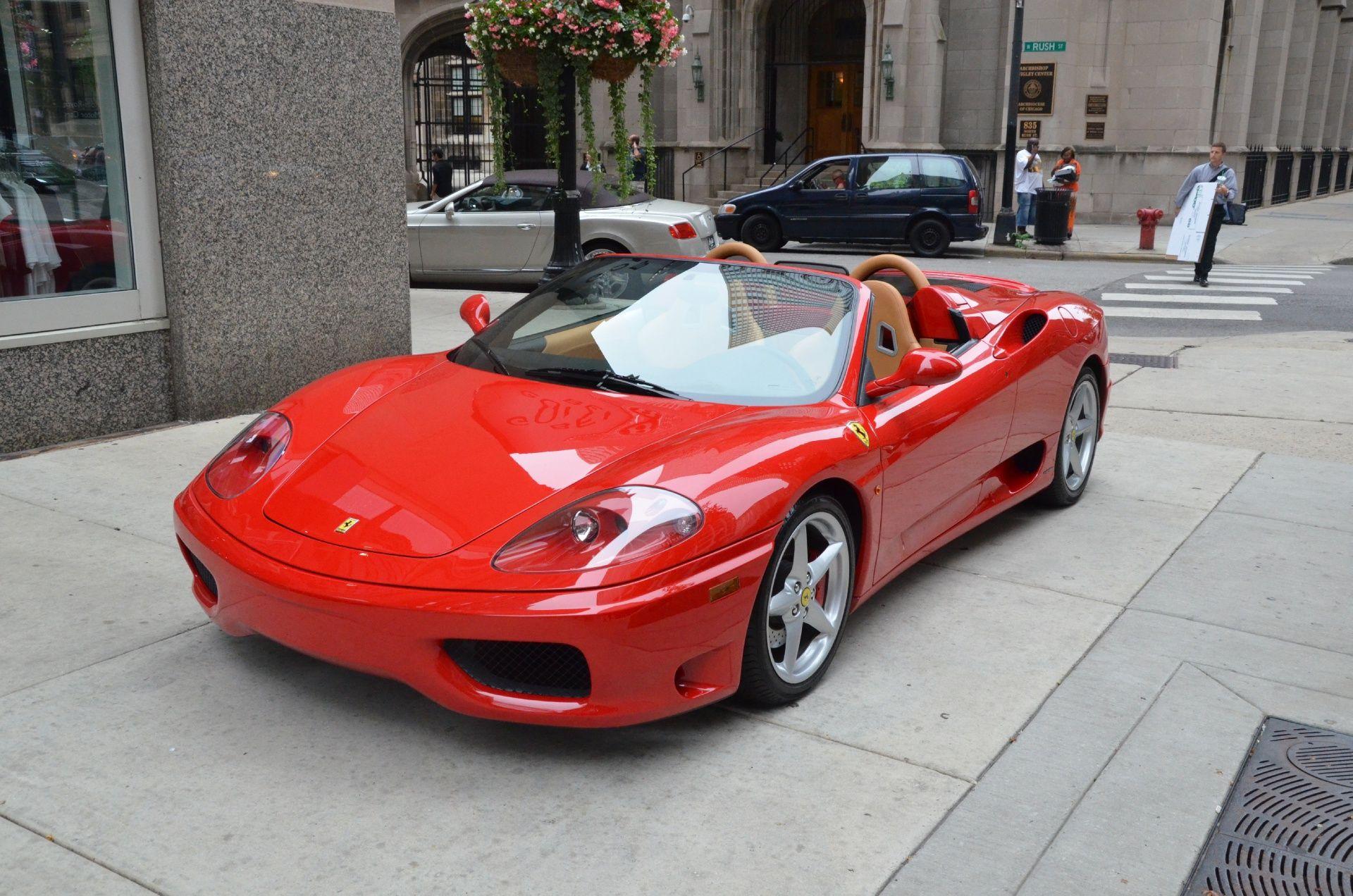2001 Ferrari 360 Spider Wallpaper Http Wallpaperzoo Com 2001
