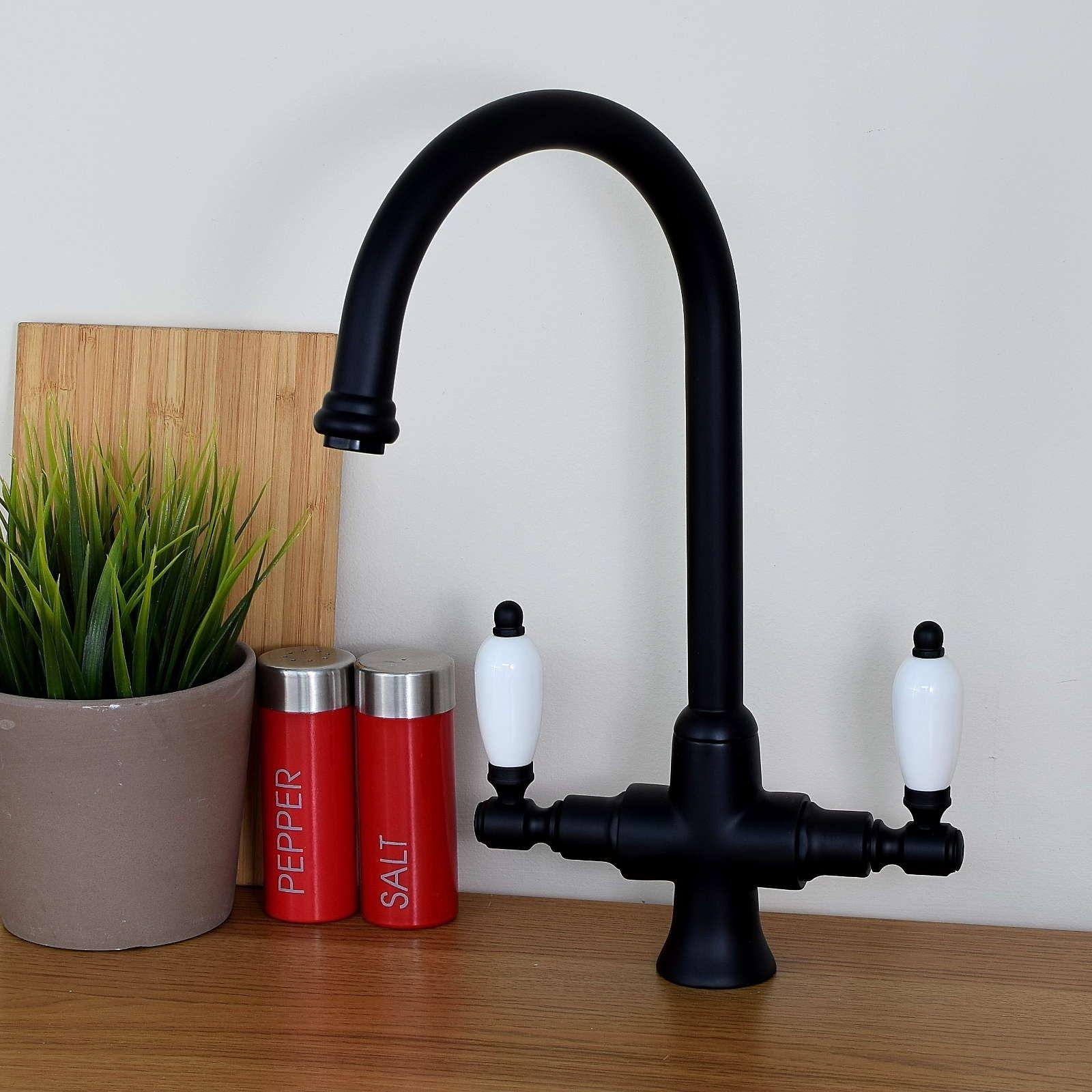 Dorchester Kitchen Tap Black | Kitchen & Bathroom Taps | Pinterest ...