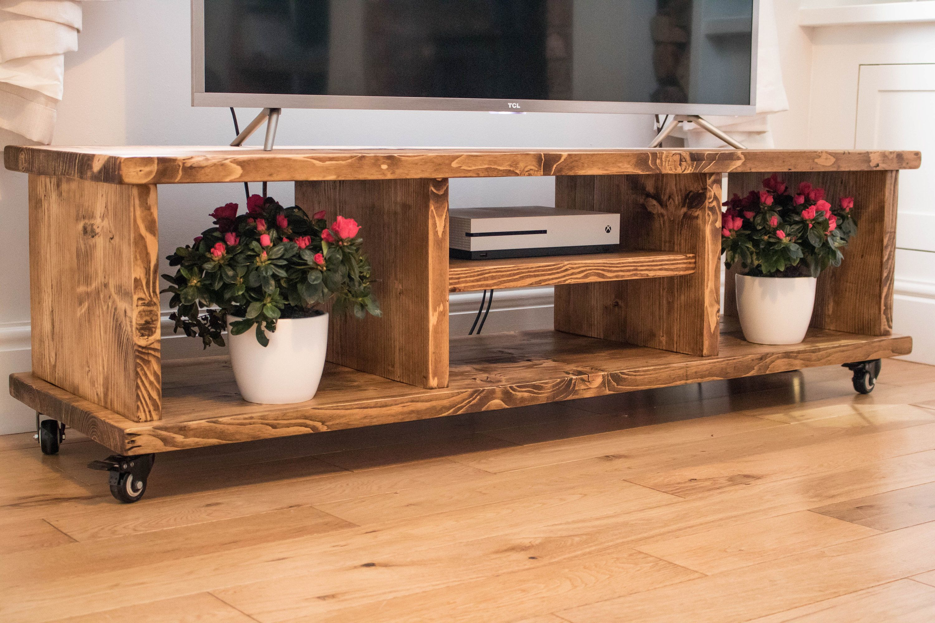 Rustic Tv Stand Handmade Scaffold Board Tv Unit Reclaimed Solid Wood Furniture Rustic Tv Stand Solid Wood Furniture Rustic Furniture Diy