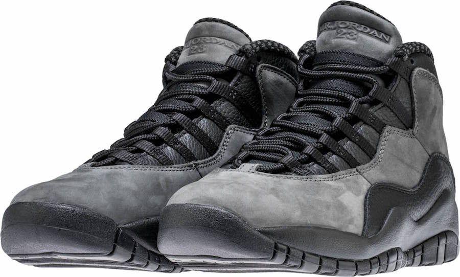 3779083d608 Air Jordan 10 Dark Shadow Color: Dark Shadow/Black-True Red Style Code:  310805-002 Release Date: April 28, 2018 Price: $190