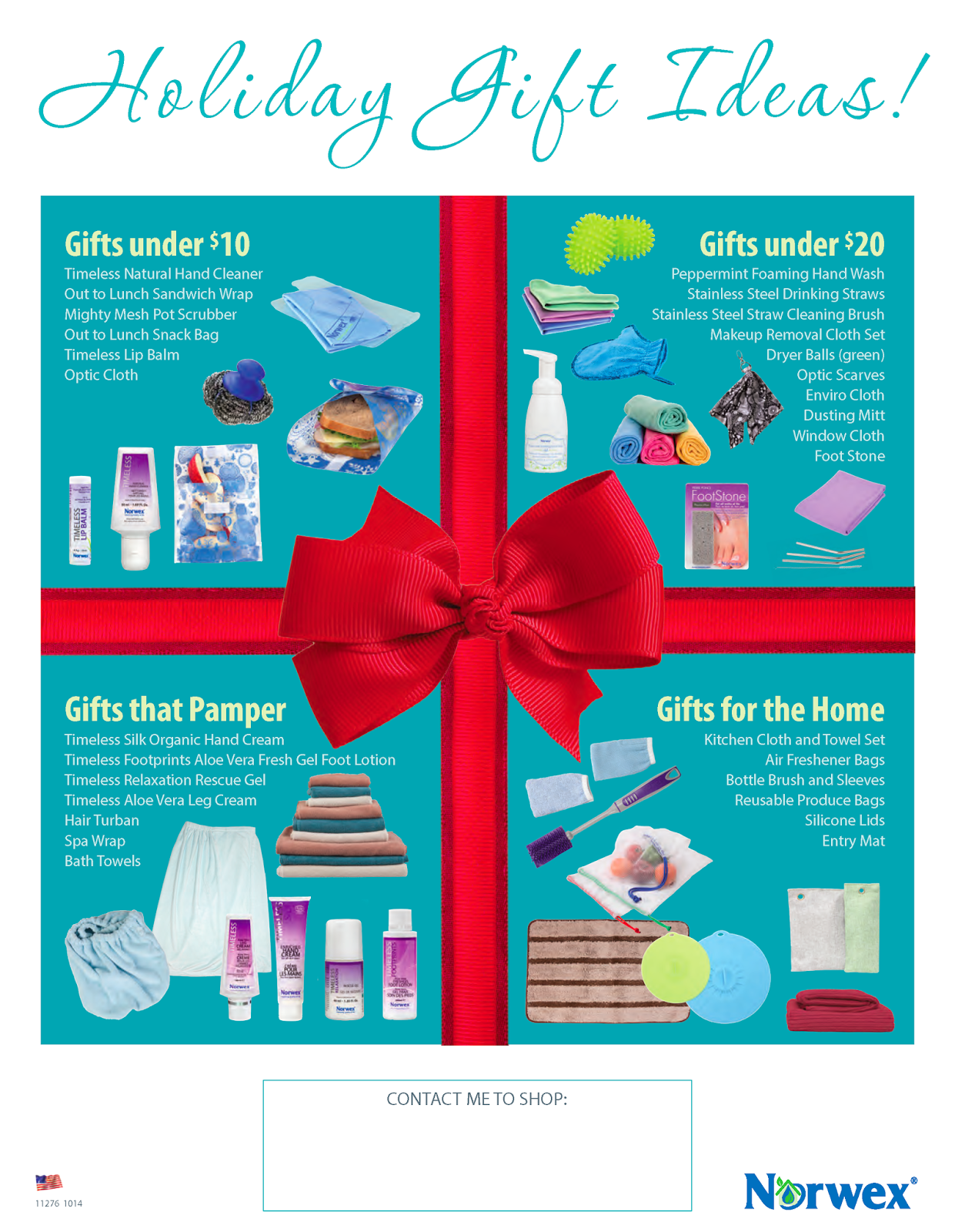 Holiday Gift Ideas! Norwex, Holiday gifts, Norwex party
