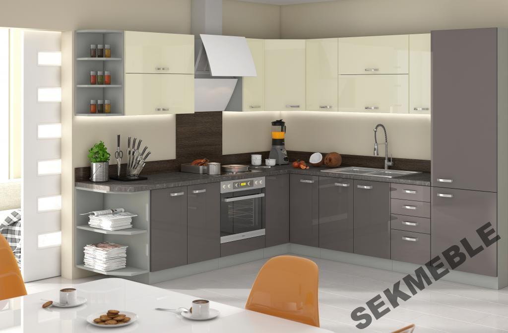 Meble Do Kuchni Grey Meble Kuchenne Kuchnia Grey 5400879373 Oficjalne Archiwum Allegro Kitchen Sets Home Decor Kitchen Cabinets