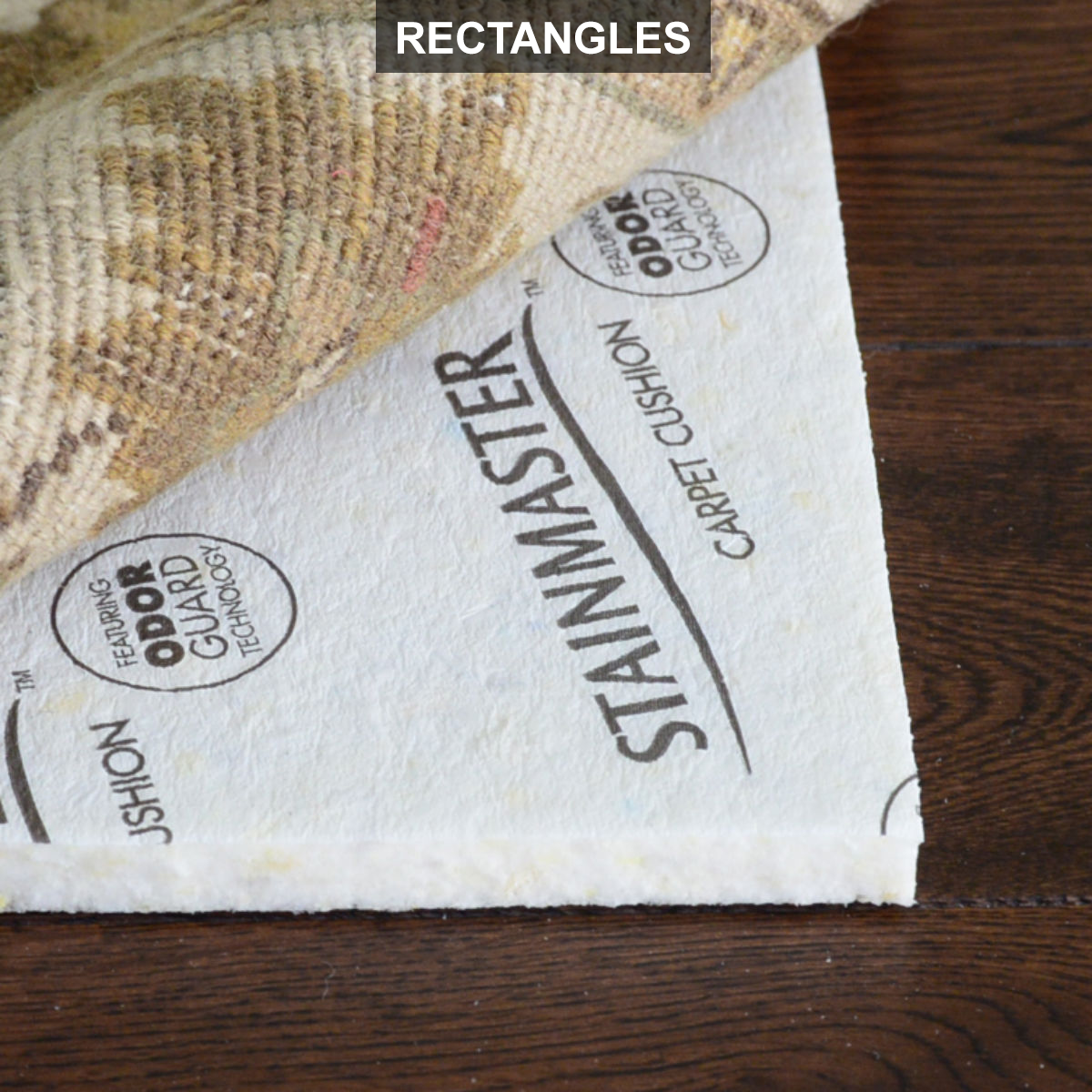 Stainmaster 1 2 Thick Rectangle Rug Pads Waterproof Rug Pad