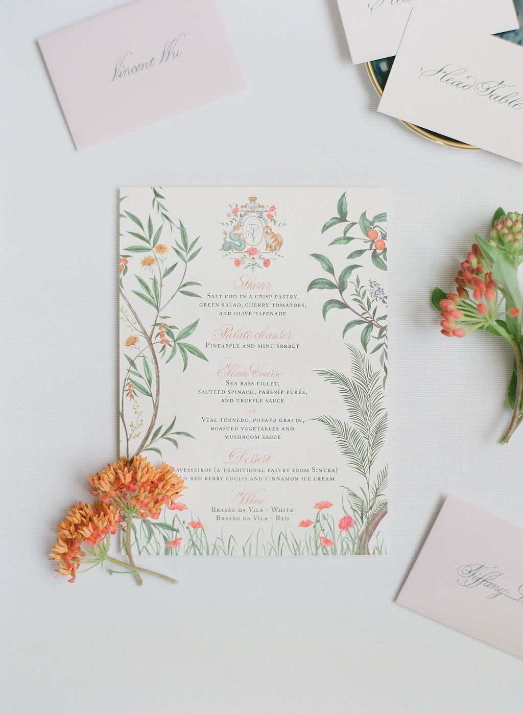 Stationery Details And Wedding Monogram By Kinship Press In 2020 Illustrated Invitations Wedding Stationery Wedding Cards