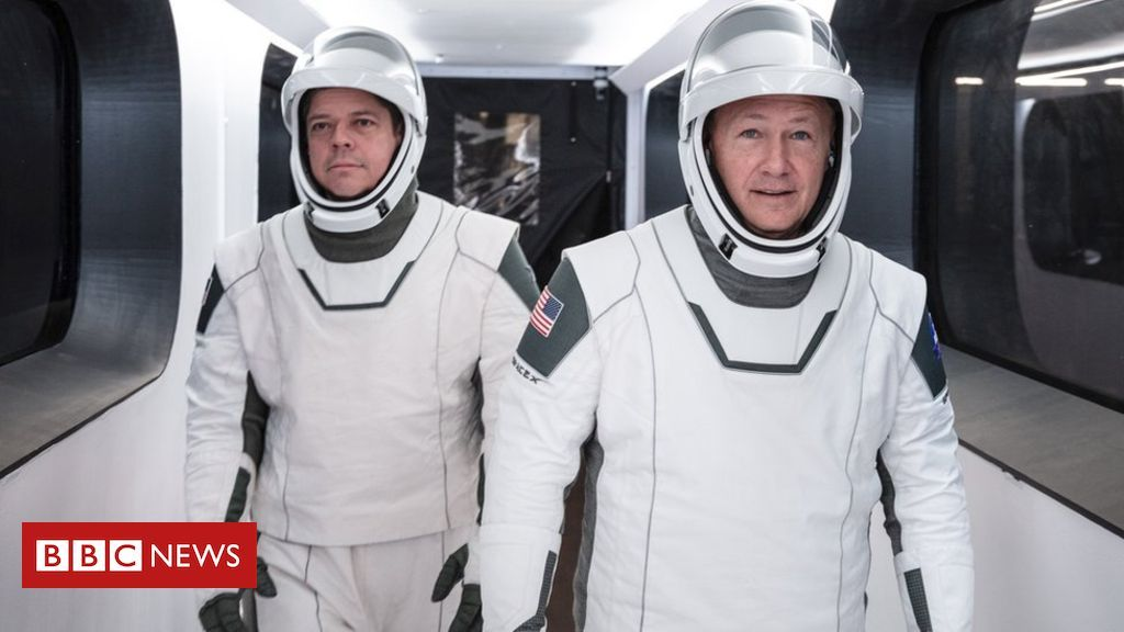 Nasa SpaceX launch: Evolution of the spacesuit in 2020 ...