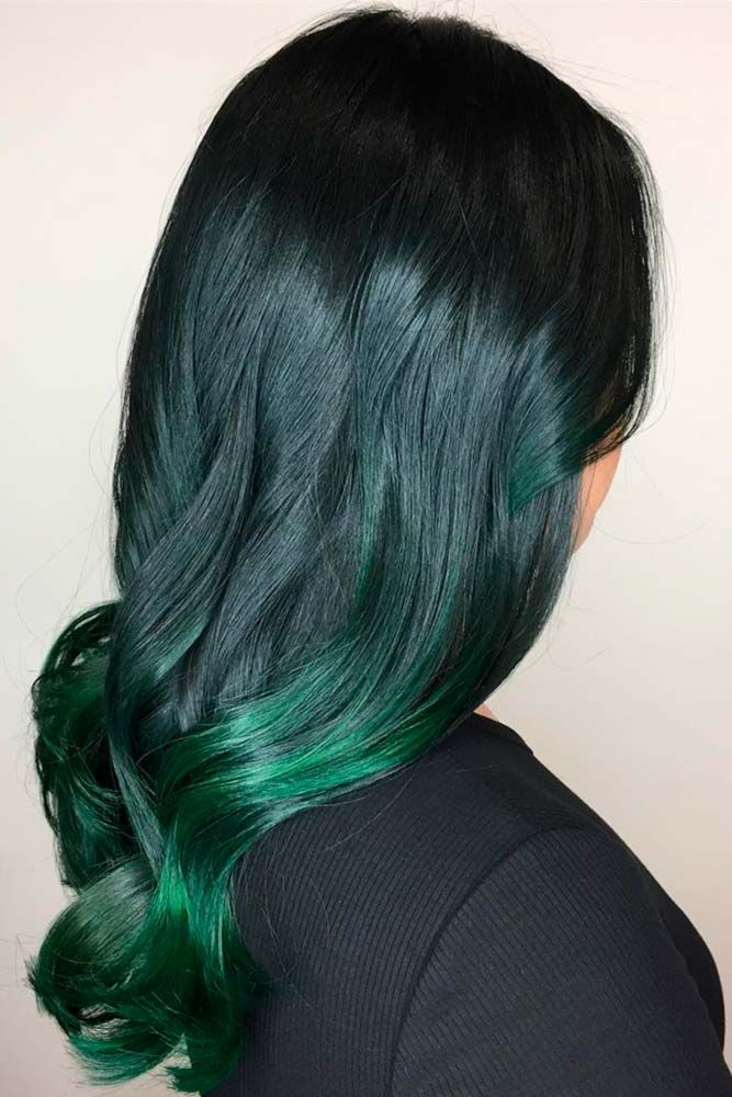 21 Sexy Green Hair Ideas To Try Hair Coloring Ideas Pinterest