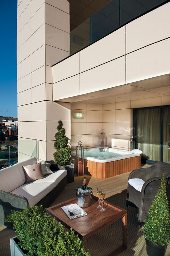 Casa Is One Of The Few Hotels In The Uk To Offer Private Hot Tubs