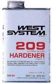 West System 209 Extra Slow Epoxy Hardener  products   Epoxy West System 209 Extra Slow Epoxy Hardener  products   Epoxy Ideas