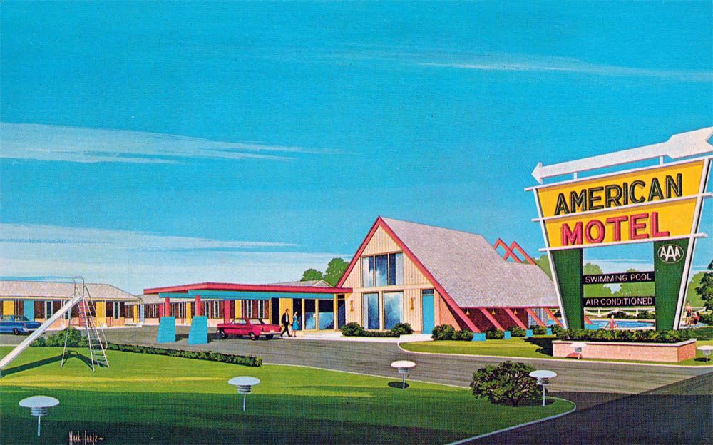 American Motel Newport Arkansas If The Giant A Frame Lobby Did