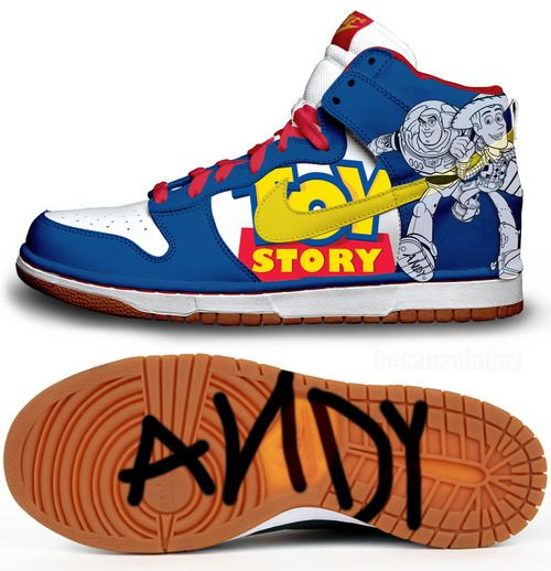 Toy Story Nikes. sneakers