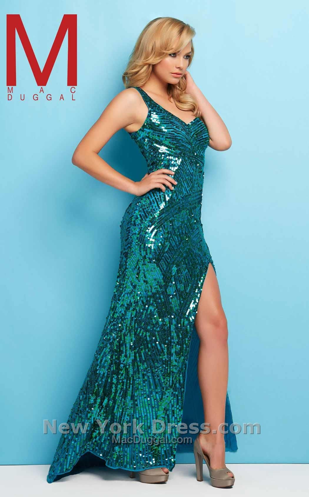 Mac Duggal 4122 L Emerald Green | List Of All Products | Pinterest