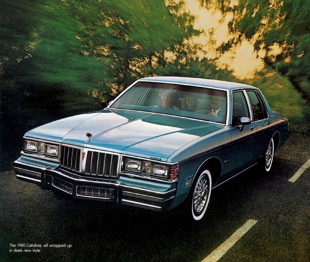 1980 Pontiac Catalina 4 Door Sedan Pontiac Catalina Pontiac
