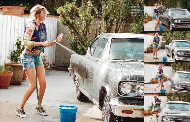 Kate Upton in Elle France Jan 2013