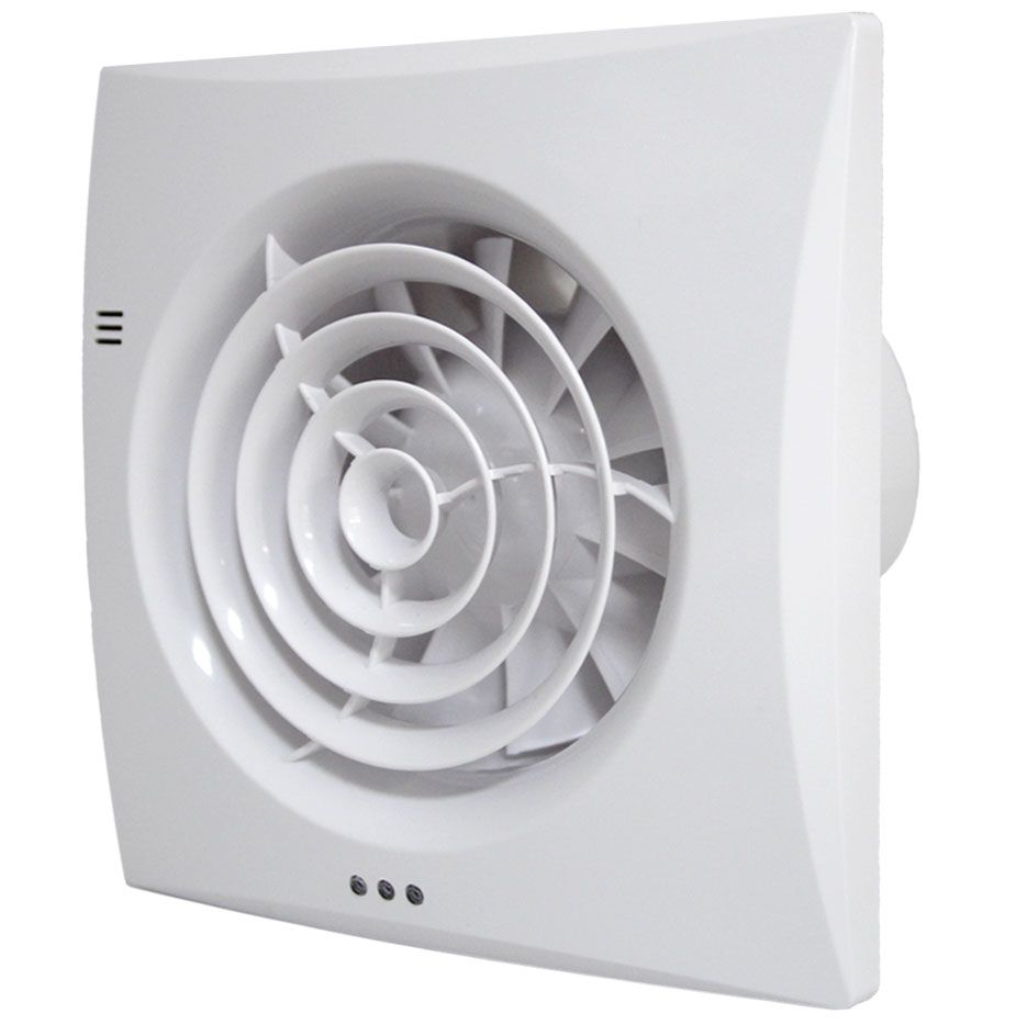 Bathroom Extractor Fan Humidistat Timer Silent Tornado St100ht Bathroom Extractor Fan Bathroom Fan Extractor Fans
