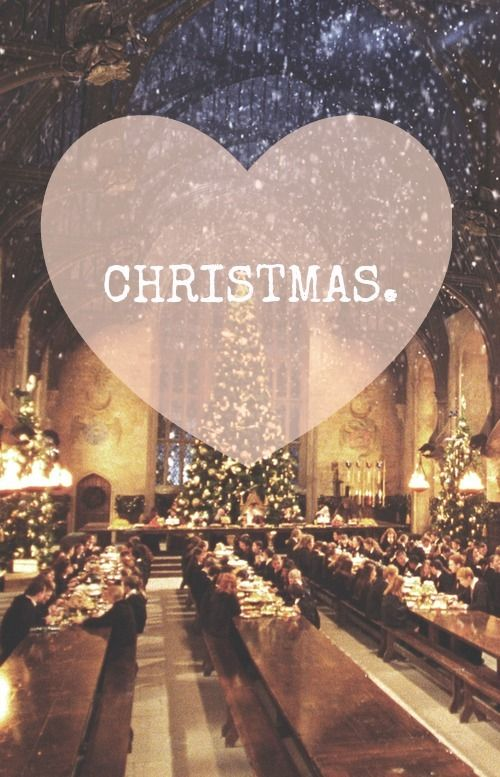 Love Christmas Harry Potter Christmas Hogwarts Christmas Christmas Wallpaper