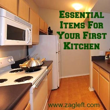 essential items for your first kitchen recipes for