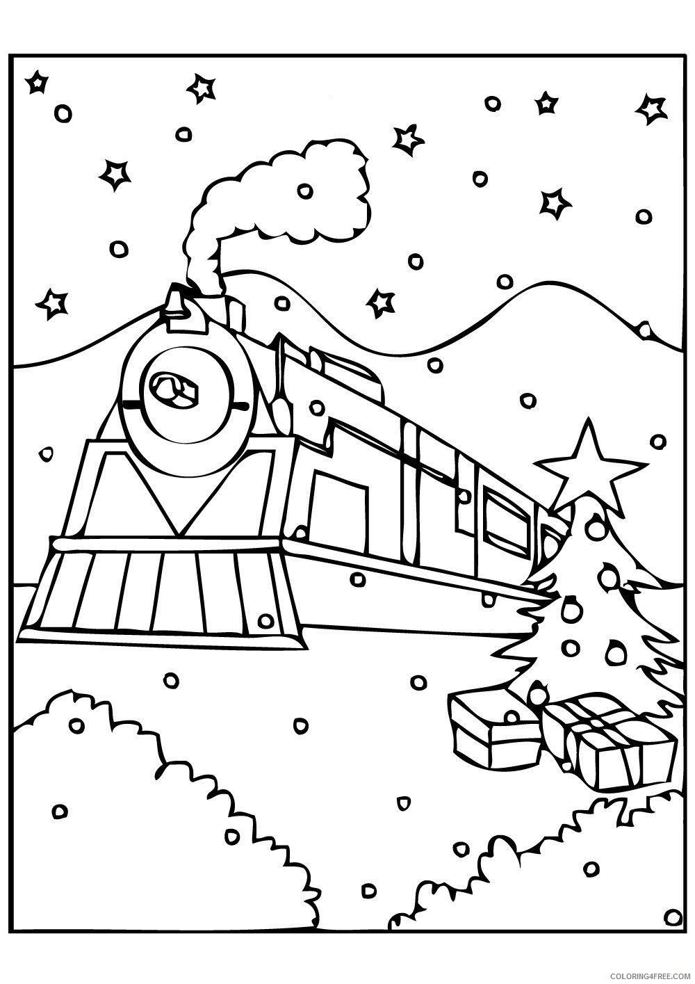 Polar Express Coloring Pages New Photos
