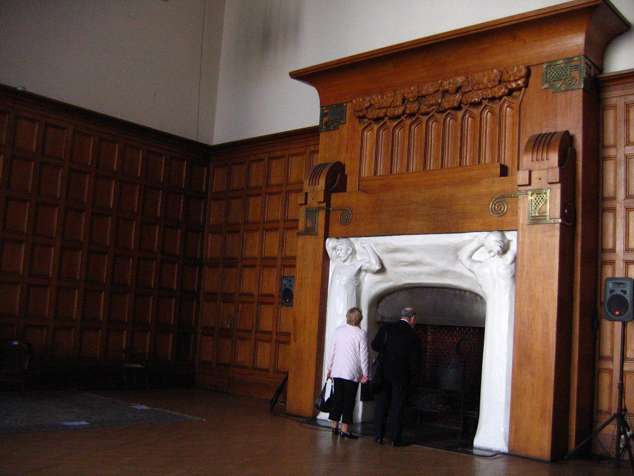 Art Nouveau / Jugendstil Fireplace | Art Nouveau Fireplaces ...