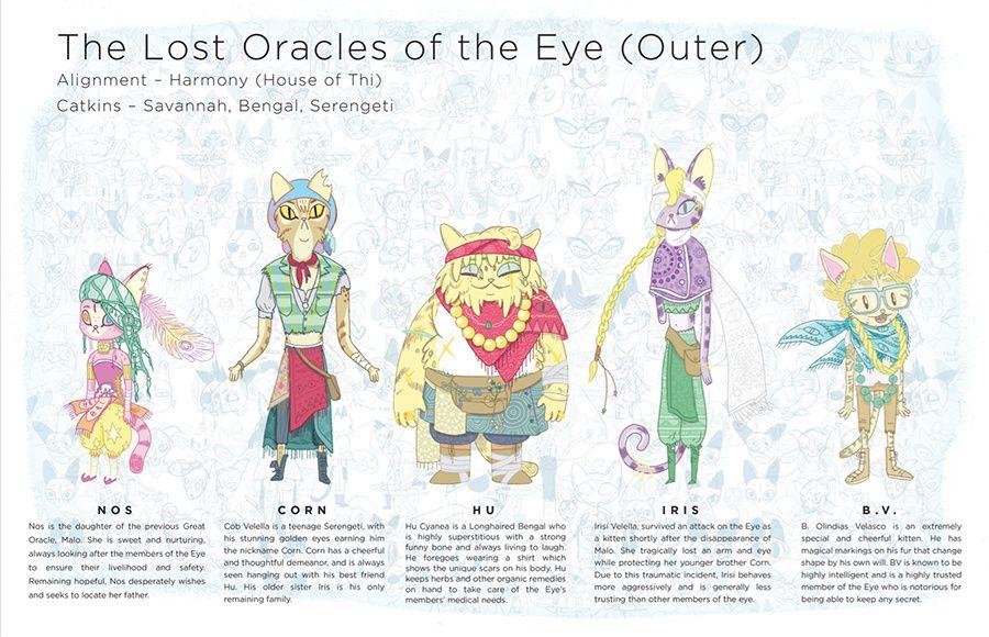 Original Pitch Bible pt.3 Characters - image