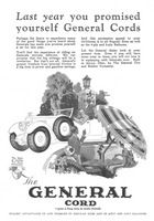 General Cord Tires 1925 Ad Picture