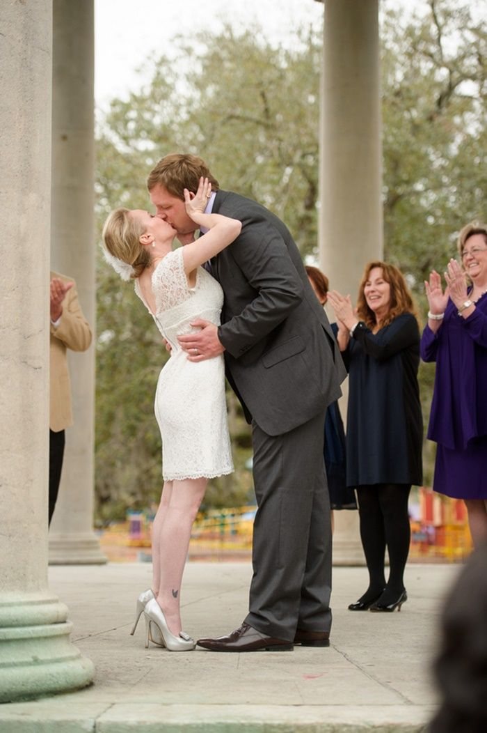 New Orleans Wedding Photography At Popps Band Stand In City Park I Jessica And Thomas