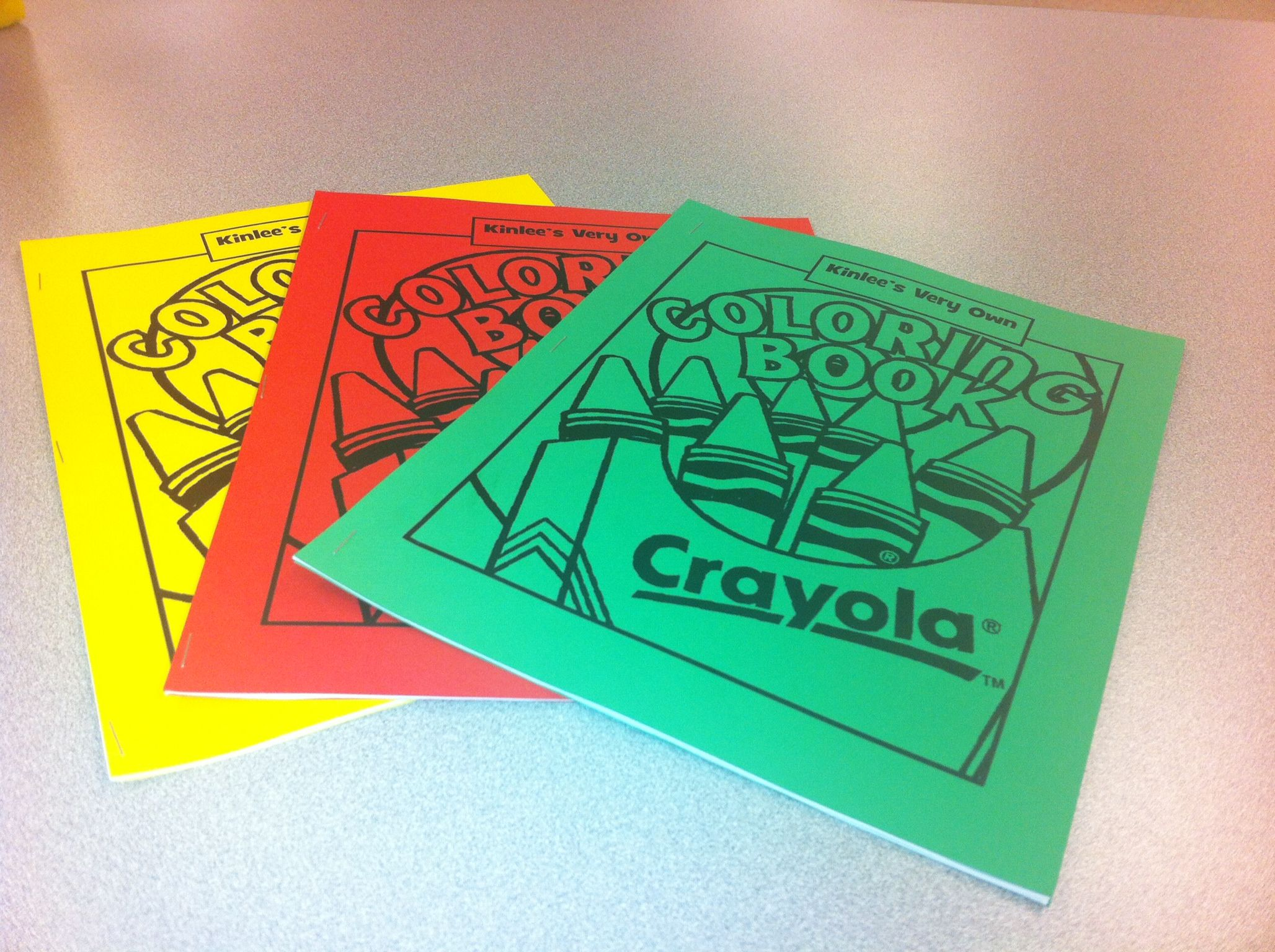 Made coloring books using pictures of Kinlee, on Crayola.com for ...