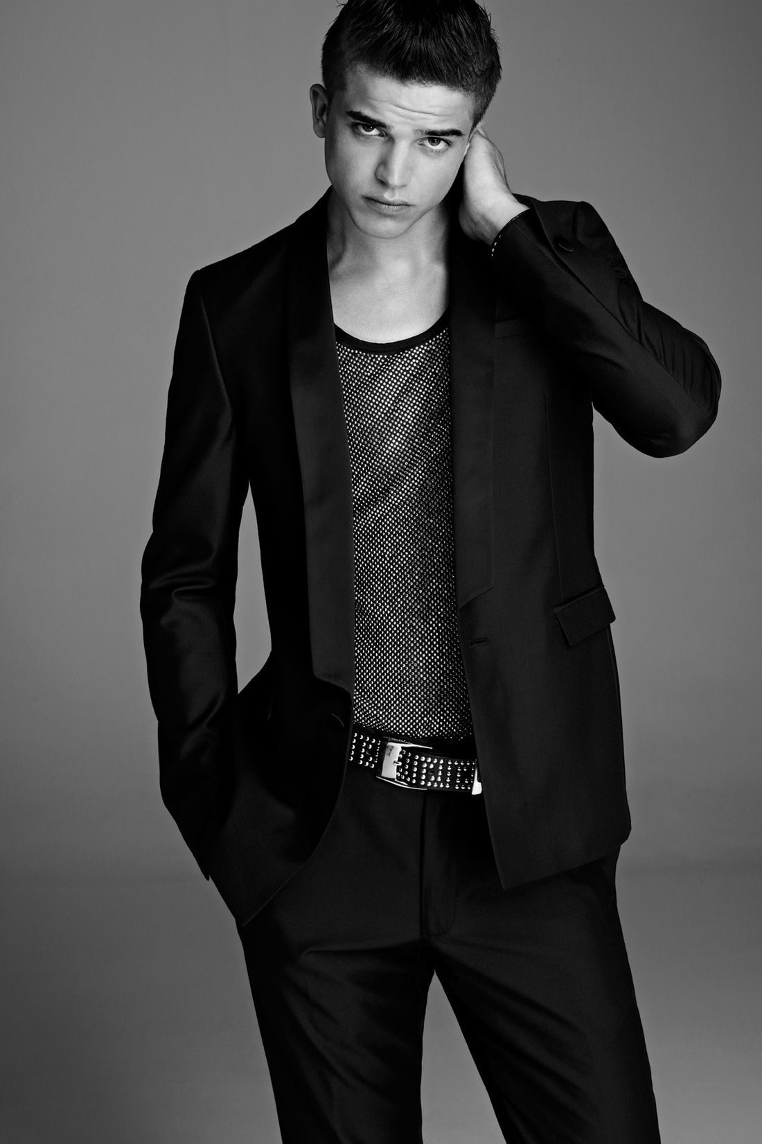 River Viiperi for Versace H&M Lookbook   Male models poses ... on Top Model Ideas  id=21636