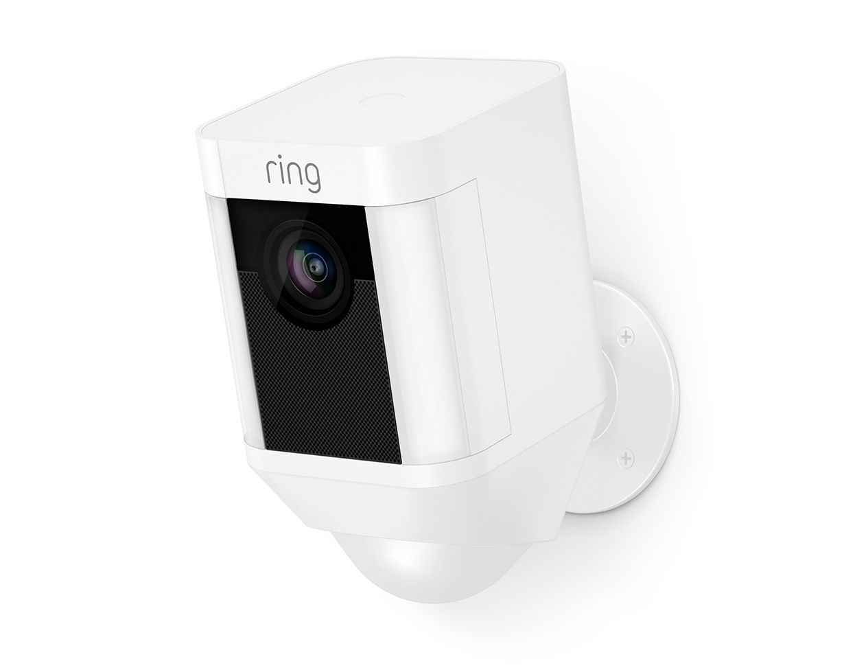Ring Spotlight Security Camera (Battery-powered), Two-way talk ...