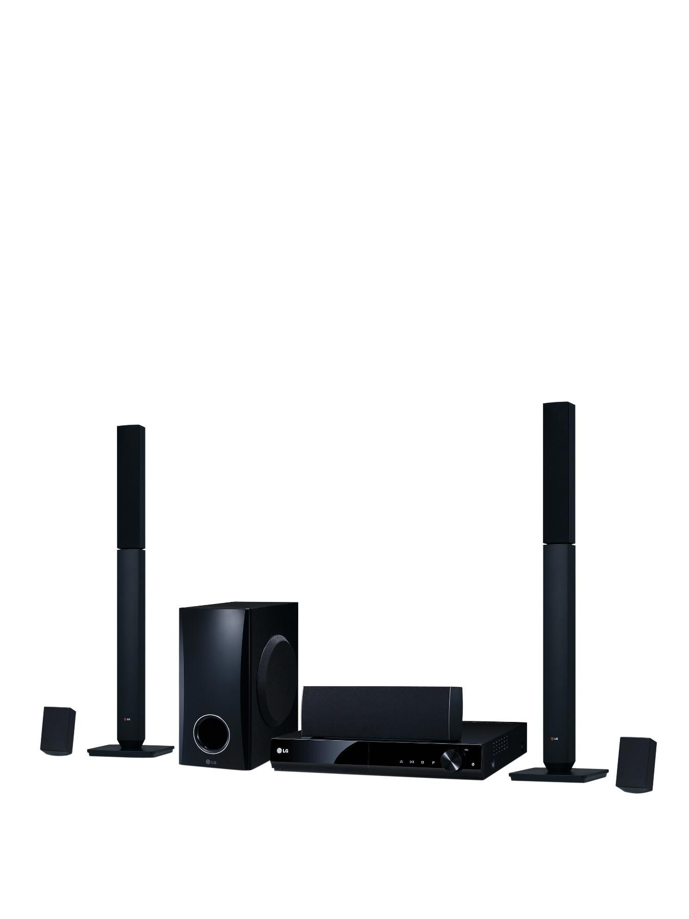 Give your movies the audio they deserve with this great value LG DH4430P 330 watt DVD Home Cinema System.