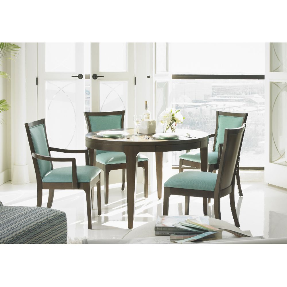 Blue Stone Dining Dining Table 4 Chairs 1293b Conn S