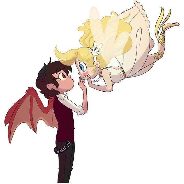 Demon Marco and Angel Star <3° | SVTFOE | Pinterest | Angel, Star ...