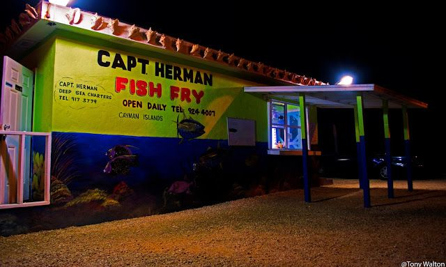 Tony Walton: Cayman Islands Restaurant Caribbean street photogr...