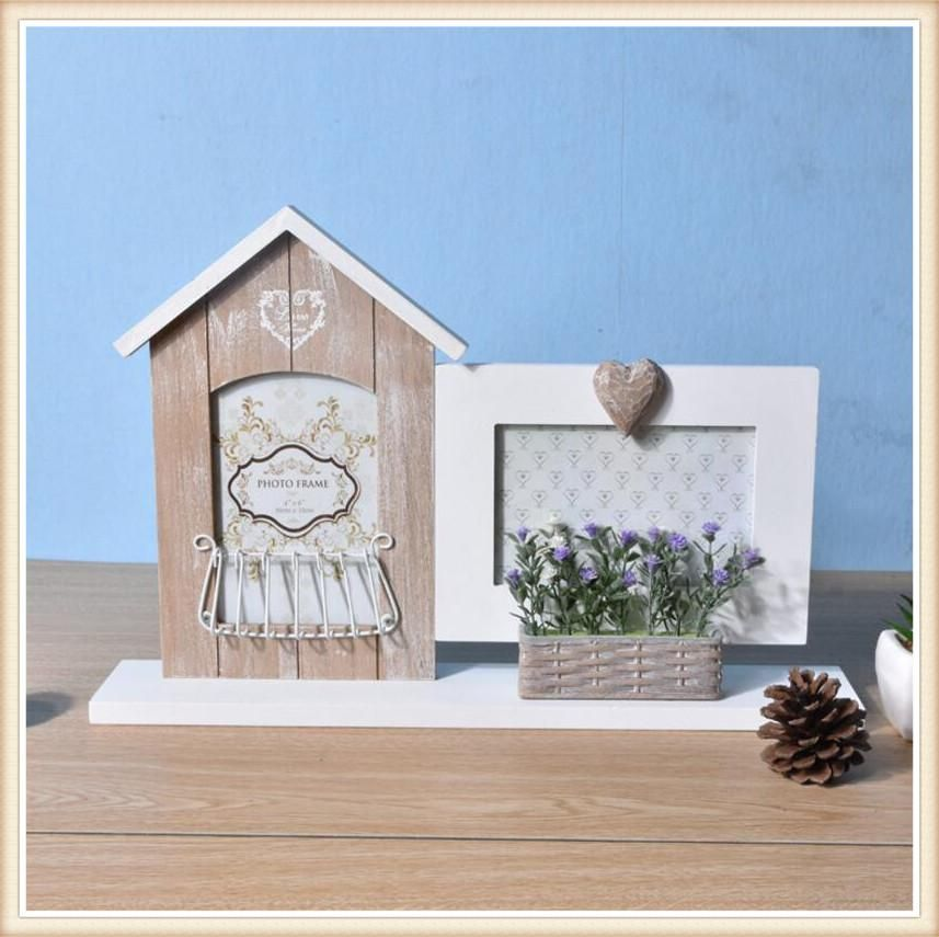European Style Wood Photo Frame Creative Combination Photo Wall Home