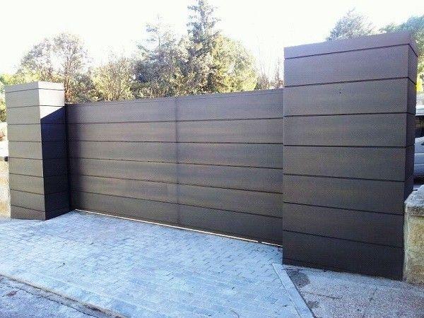 puerta garaje corredera hierro ms-pue010   home - door & fence