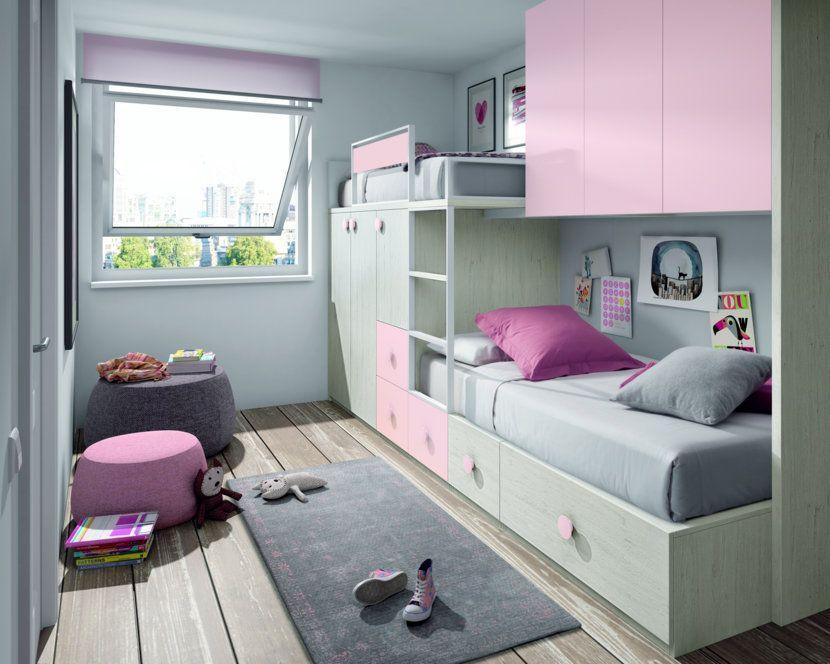 Camas tren a medida para dormitorios juveniles o infantiles cama isa pinterest - Camas infantiles a medida ...