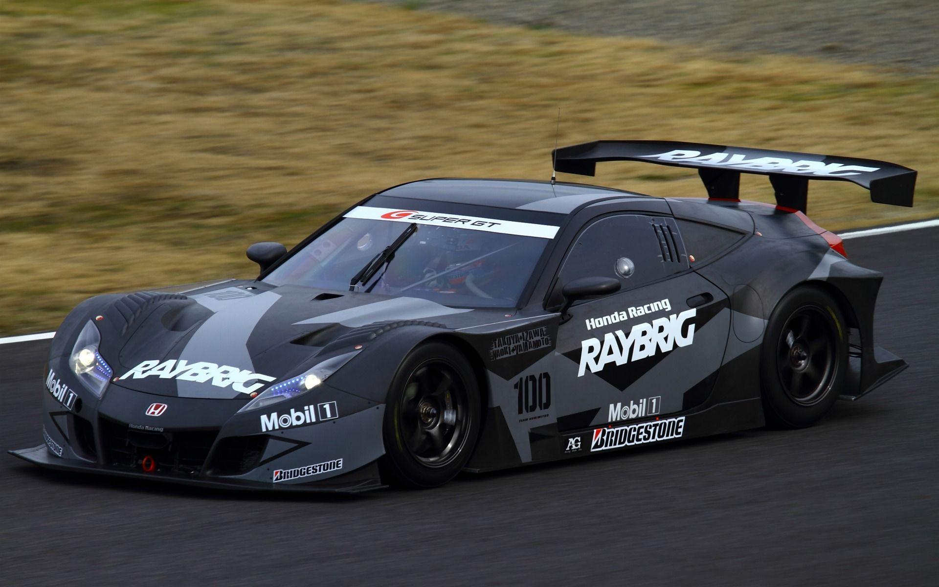 Raybrigホンダhsv 010のスーパーgtレースカー 車 高解像度で壁紙 レースカー スーパーgt カー