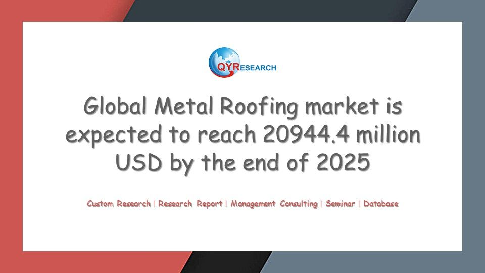 In Consumption Market Global Metal Roofing Market Is Valued At Usd 14490 3 Million In 2017 And Is Expected To Reach Usd 20 Marketing Marketing Trends Research