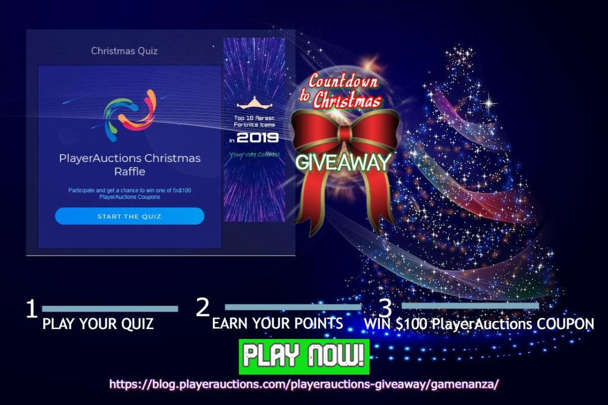 GameNanza Quiz PlayerAuctions Giveaway (With images