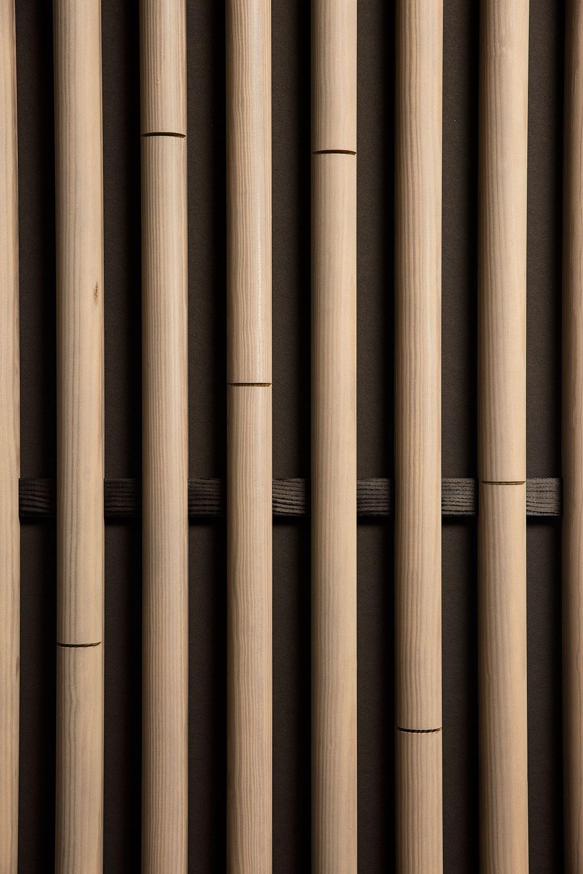 Bamboo 3d Laudescher Woodlabo In 2020 Bamboo Texture Bamboo Acoustic Panels