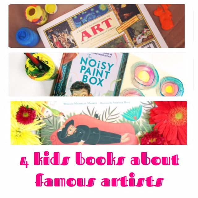 The lives of artists and the paths they took to produce their best works  always makes for a good story.  Here are some of our favorite books about  artists.    A Child's Introduction to Art by Heather Alexander and Meredith Hamilton   This art book for kids focuses on two things: introducing young readers to  classic famous artists and some of their best work and teaching basic art  concepts.  Artists featured include Mary Cassatt, Jackson Pollock, and  Cezanne, and each have a small…