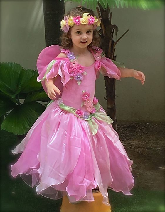 f1a6974de976a Little Gems Australia Apple Pink Fairy Costume With Matching Wings And  Garland Sc 1 St Pinterest