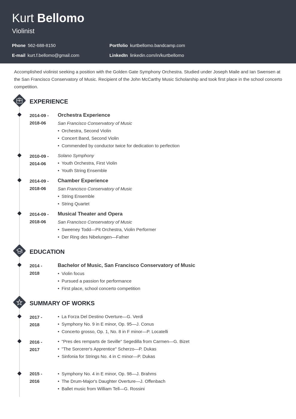 Music Resume Example Template Diamond Resume Examples Job Resume Examples Resume Template