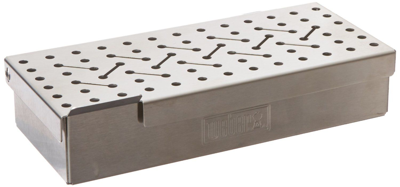 Amazonsmile weber 7576 universal stainless steel smoker