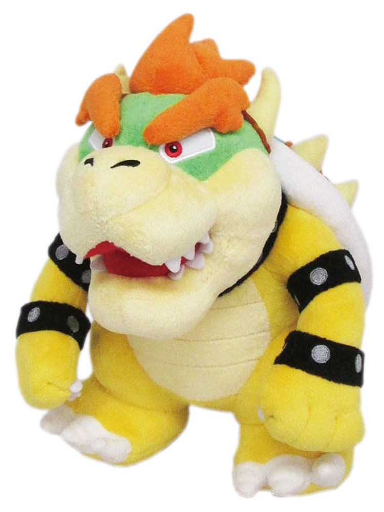 Super Mario Bros Koopa Dark Bowser Plush Toy Stuffed Figure Anime Doll 12 inch