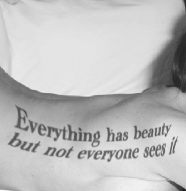 Cute Quotes For Tattoos Girly: Beauty Quotes Tattoos For Women
