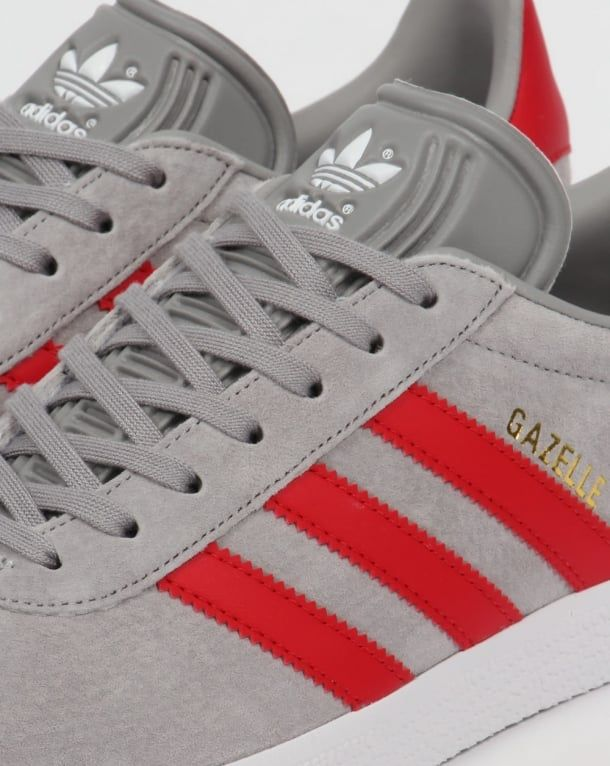 online store 7f019 d973c Adidas Gazelle Trainers Solid GreyRed,originals,shoes,mens,sneakers