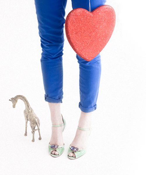 fun pants shoes color
