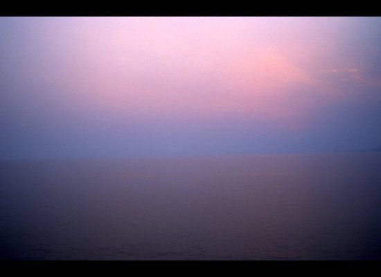 Sea Scape at Sunset - Nan Goldin